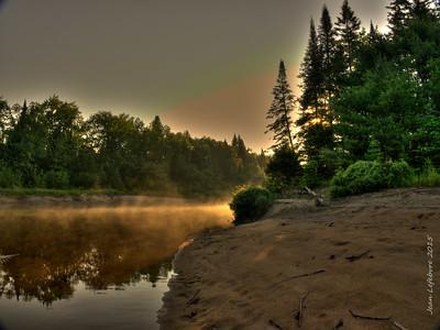 Noire River, Prov. of Quebec 2015