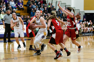 HS Sports - DeForest Girls Basketball - Nov 22, 2016