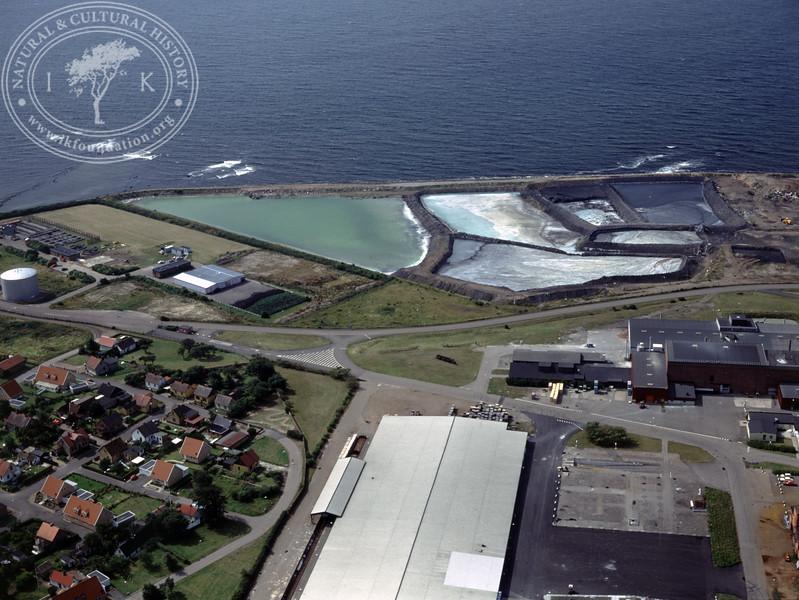 Höganäs, dams close to the coast (1990) | PH.0614