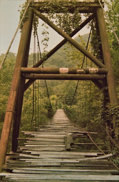 Foot Bridge over River