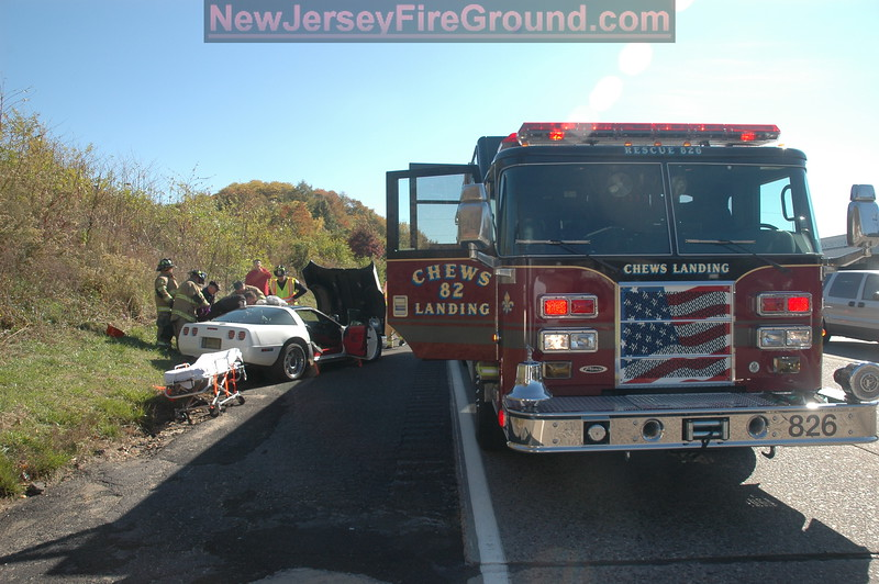 10-30-2008(Camden County)GLOUCESTER TWP. Rt. 42-M.V.A. Rescue