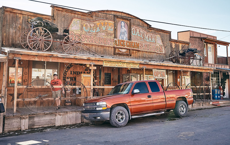 Route 66 - Oatman, Arizona