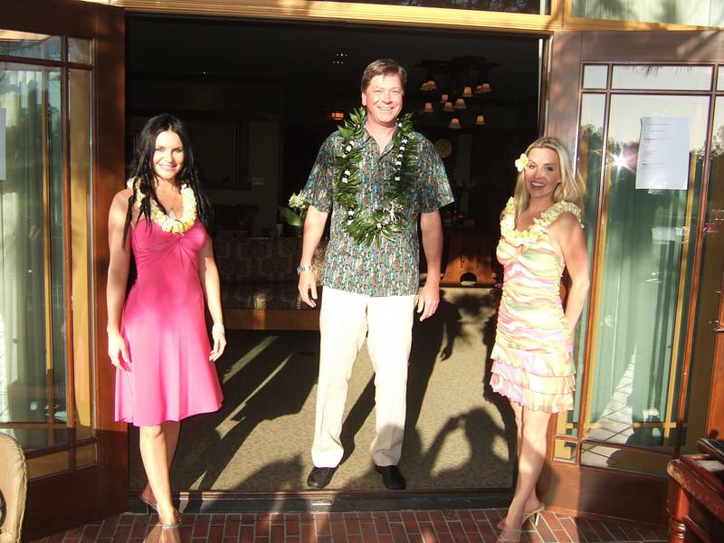Luau Party Hostesses