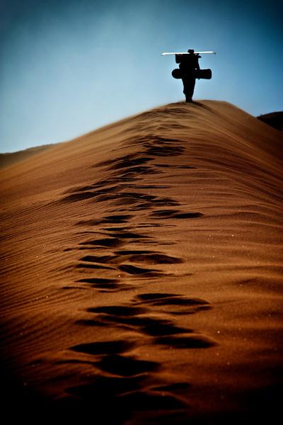 #Sandsurfing