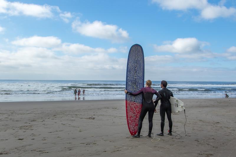 Stinson Beach Surfers