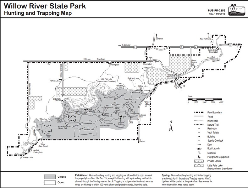 Willow River State Park (Hunting Map)