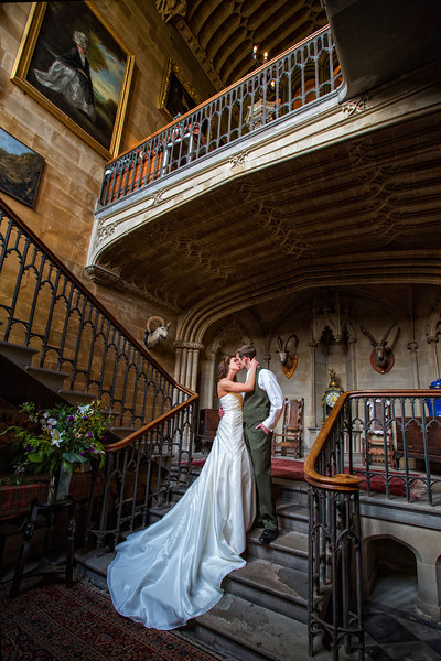 Duns castle Interior Wedding