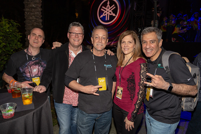 2019_01_26, Anaheim, CA, Imagine Party, Janet Tufo, Names, NAMM, Neutrik