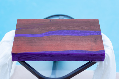Boards with Resin