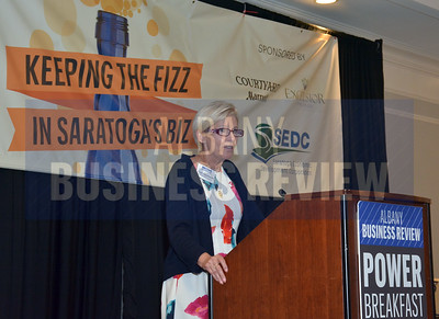 Keeping the Fizz in Saratoga Biz Power Breakfast 7-2016