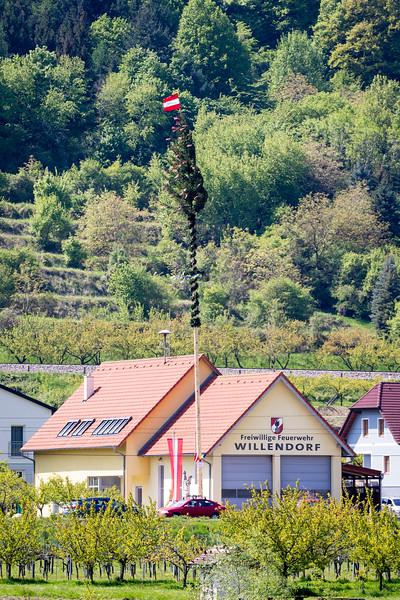 The Maypole in Willendorf, Austria