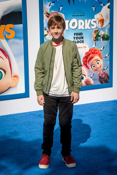 WESTWOOD, CA - SEPTEMBER 17: Actor Anton Starkman attends the premiere of Warner Bros. Pictures' 'Storks' at Regency Village Theatre on Saturday September 17, 2016 in Westwood, California. (Photo by Tom Sorensen/Moovieboy Pictures)