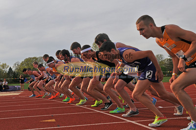 Men's Steeplechase - 2013 GLIAC Outdoor Track and Field Championships