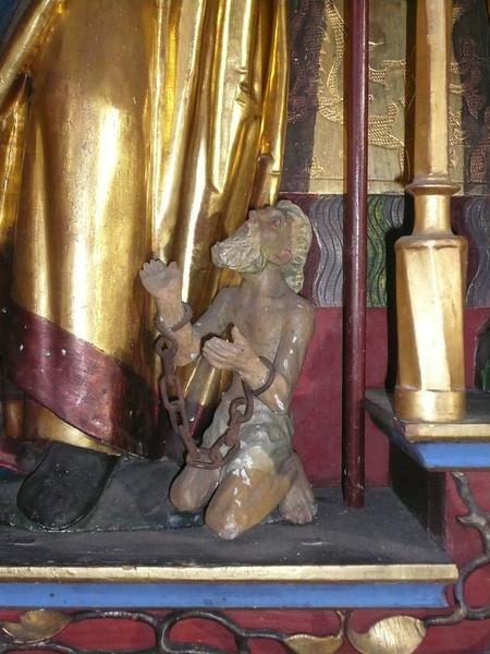 St. Josten_Anna-Altar_Figur zu Gallus