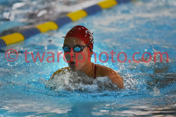 2016 CHS Girls Swimming - IC West