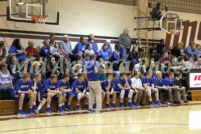 Boys Basketball, Danville vs Iowa Mennonite 2/10/2017