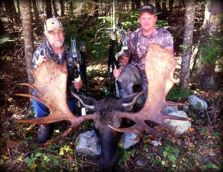 "2013 - Bradley Thornsberry, Essex Co., State archery record. 184 4/8, 56 4/8"" spread."