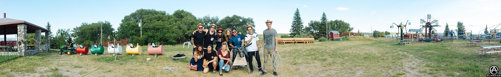 Group photo by Adam Elmakias