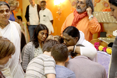 Amma at the M.A. Center in Elburn
