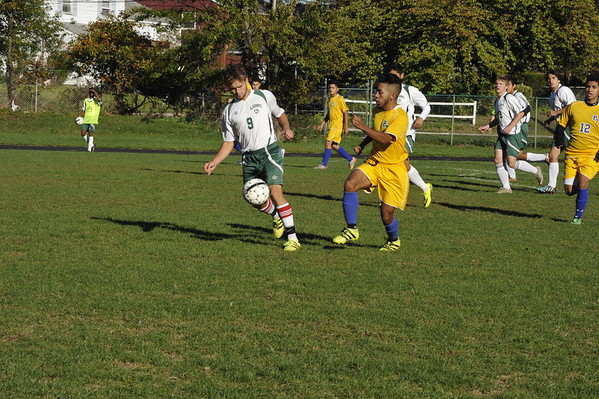 RC Boys Soccer Varsity vs Bloomfield Tech 10/10/16