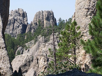 South Dakota, Black Hills, Custer State Park, Needles Point