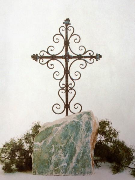 Geschmiedetes Kreuz
