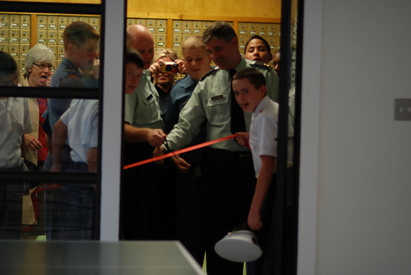 Ribbon Cutting for New MS Activity Center
