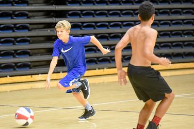 Basketball camp June 19, 2017