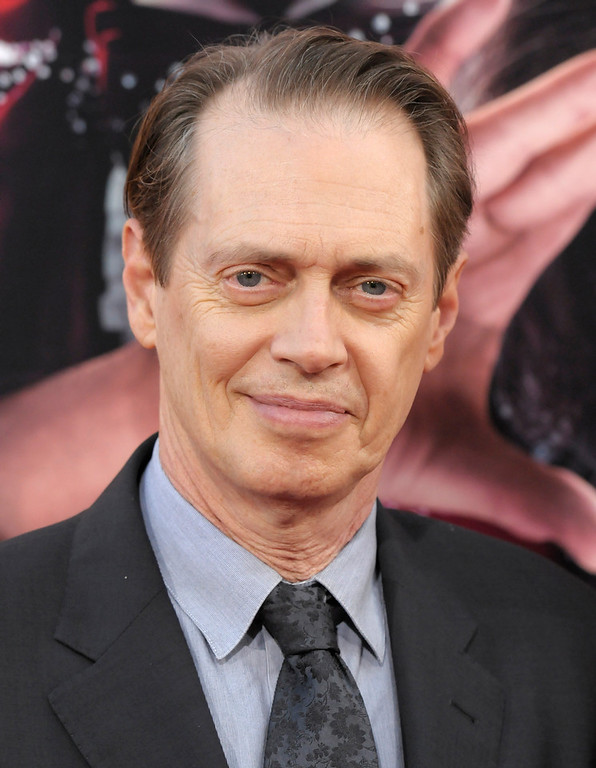 ". Actor Steve Buscemi arrives at the world premiere of the feature film ""The Incredible Burt Wonderstone\"" at the TCL Chinese Theatre on Monday, March 11, 2013 in Los Angeles. (Photo by Dan Steinberg/Invision/AP)"