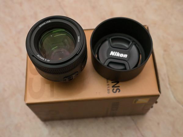 AF-S Nikkor 85mm F1.8G Lens #2