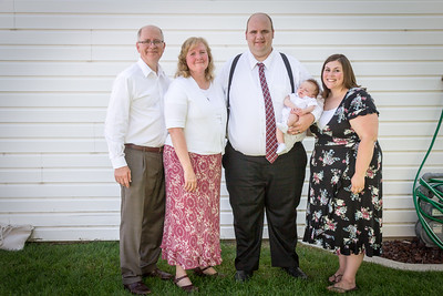 July 2018 - Peter's Baby Blessing