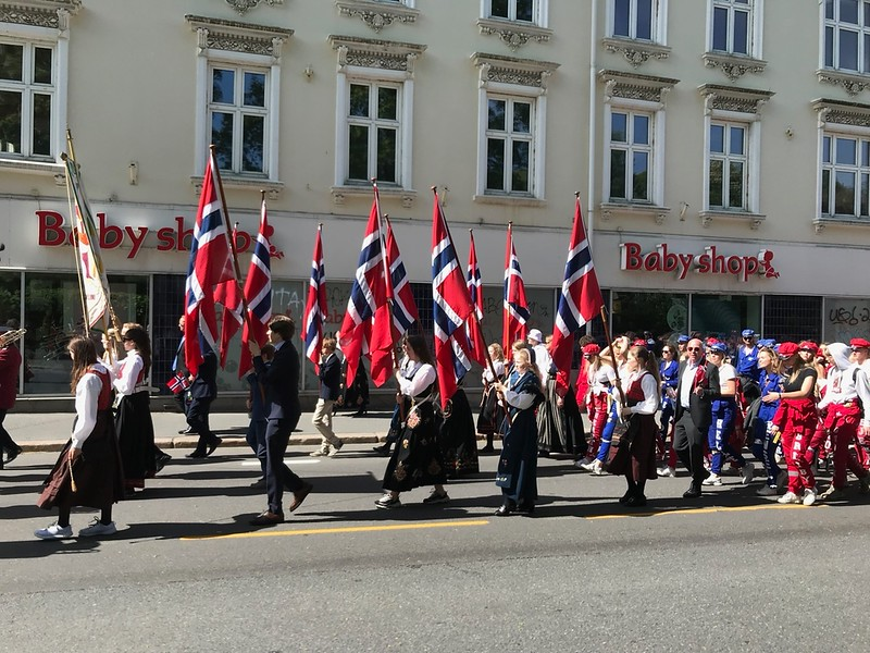 Norway goes thought this every May 17th. it's fantastic