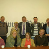 Mayor Councillor Michael Carr pictured with some of the local residents who attended the meeting to discuss the findings of a recent survey. 07W17N200