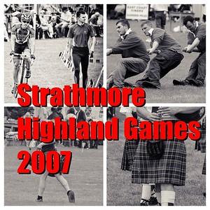 Strathmore Highland Games 2007