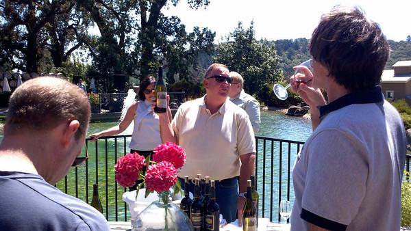 CFRA wine tasting 2010/08/28