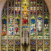 Chancel glass - Jesus as the Sovereign Christ