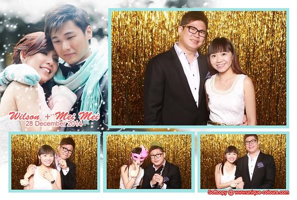 Wilson + Mei Mei Photobooth Album