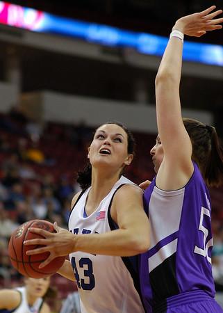 03/18/07 - NCAA Women's Tournament: Duke Blue Devils vs Holy Cross