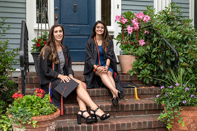 Olivia & Ashna  Graduation NorthEastern 2020