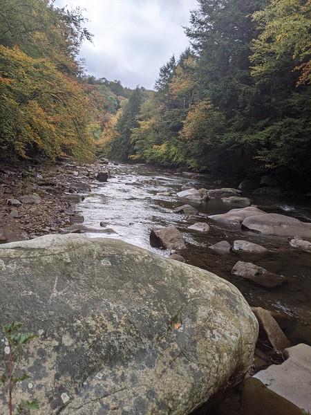 North Branch of Blacklick Creek along the GTT