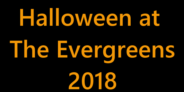 Halloween At The Evergreens 2018