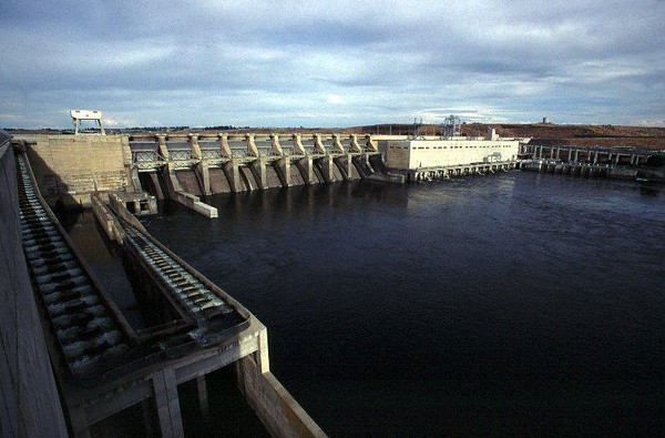 Ice Harbor Dam on the Snake River, WA