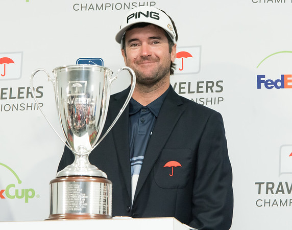 06/24/18 Wesley Bunnell   Staff The final day of The Travelers Championship at TPC River Highlands in Cromwell on Sunday June 24. Tournament Champion Bubba Watson finished with a -17.