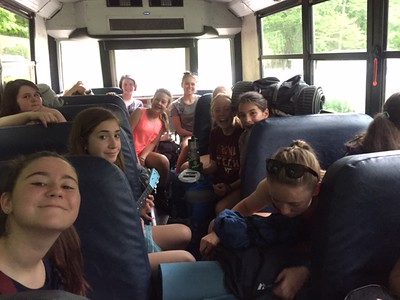 7th & 8th Grade Girls' Campout 2016
