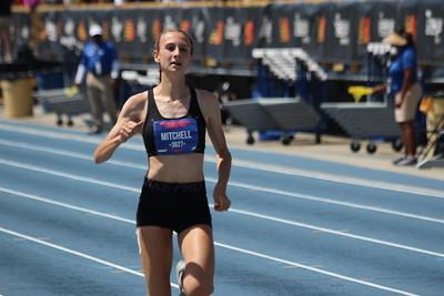 Girls 100m Dash Championship Prelims