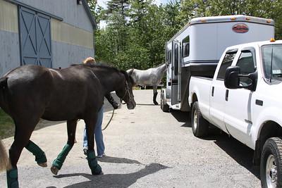 5-09-2010 Horse Show Flat Tire :-(