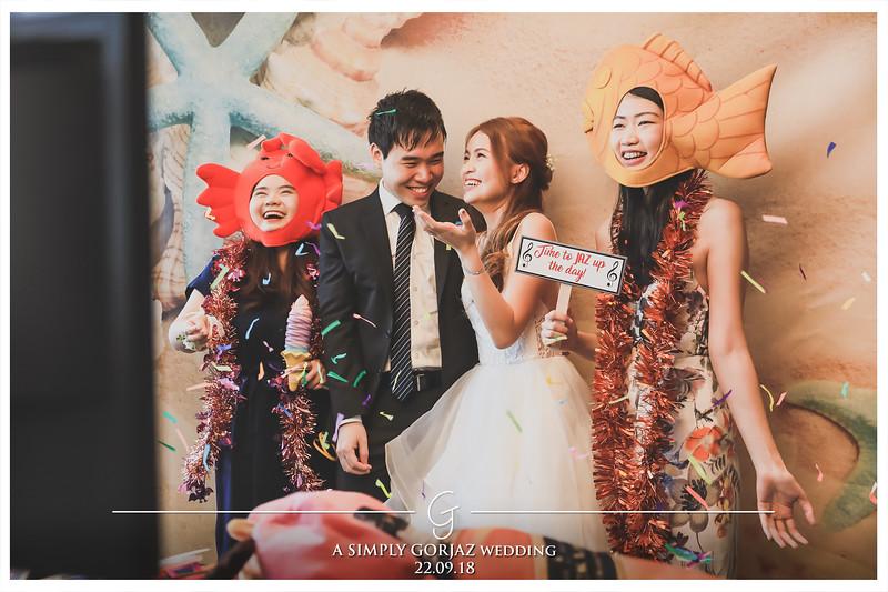 Wedding of Gordon & Jazreen | © www.SRSLYPhotobooth.sg