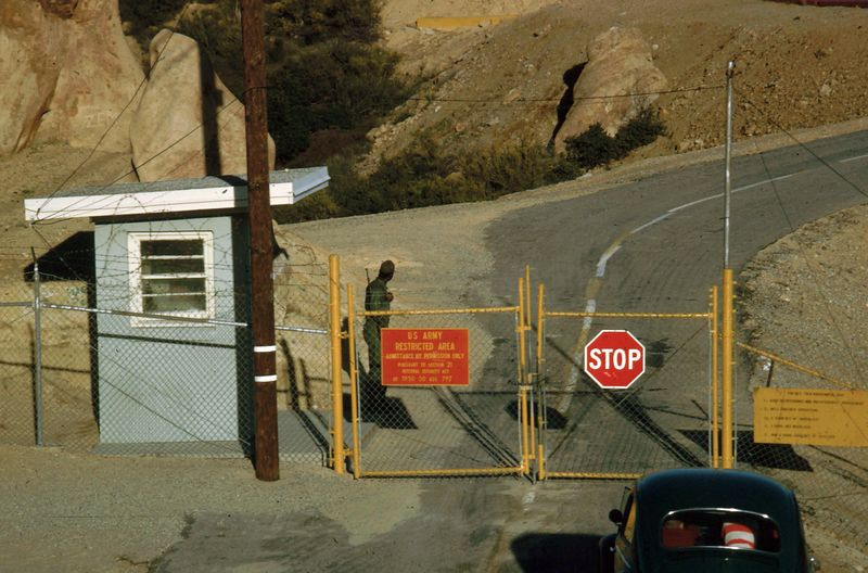 LA-78 Malibu Site- Fire Control Area - Front Gate Guard - Nov 1966