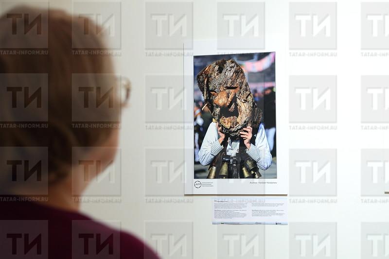 27.10.17 Открытие фотовыставки «Древние обычаи и традиции Болгарии»   (фото: Михаил Захаров / ИА Татар-Информ )