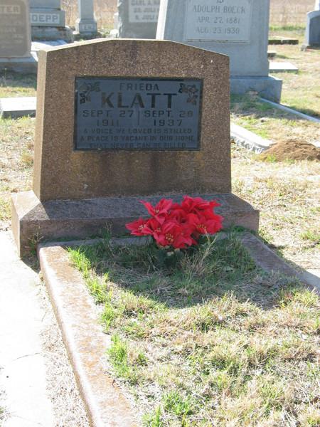 Frieda Klatt